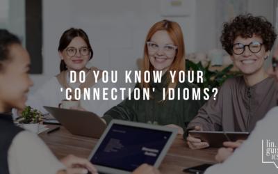 English Quiz | Connection Idioms
